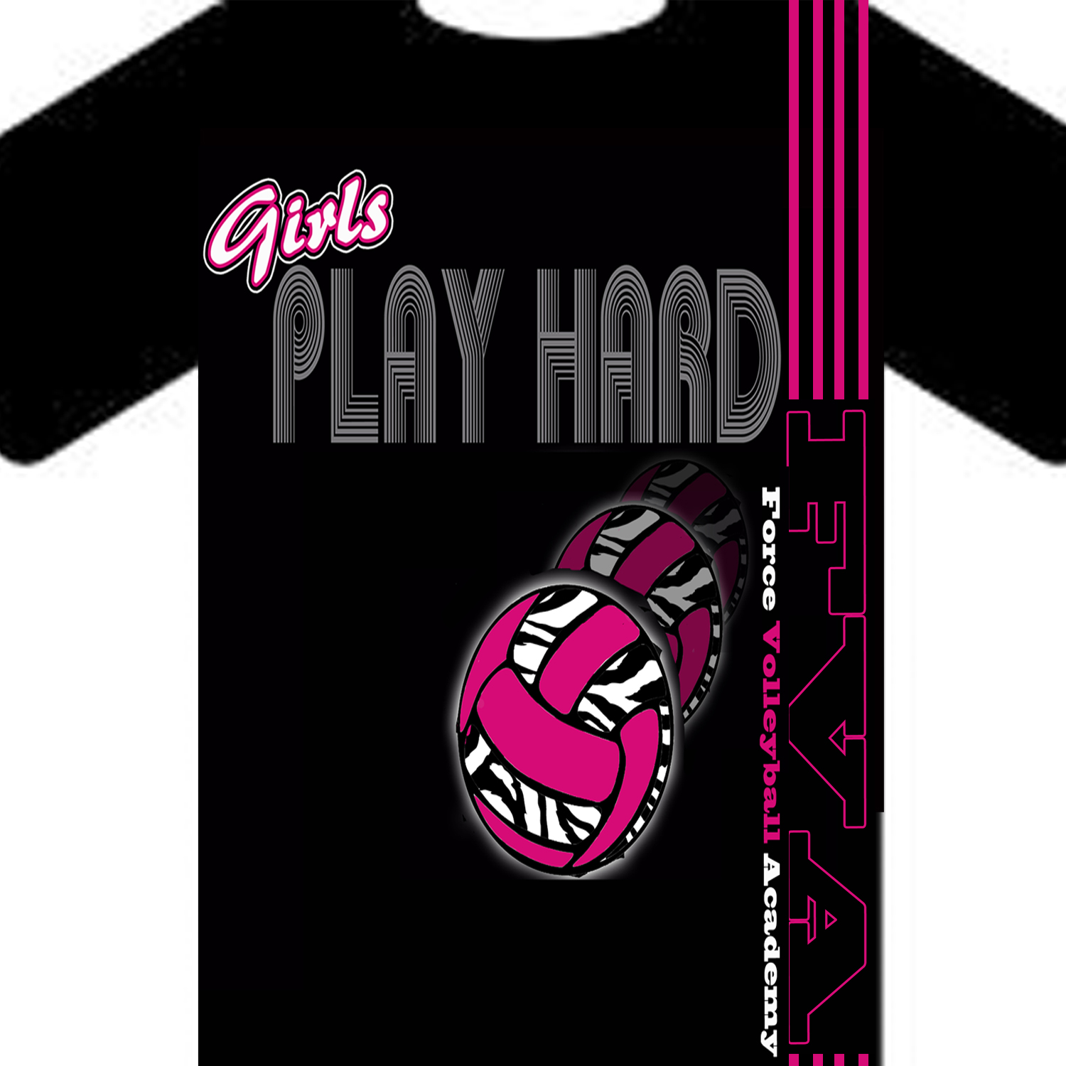 T Shirt Design Design 570587 Submitted To Volleyball Club T Shirt Design   Volleyball  T Shirt