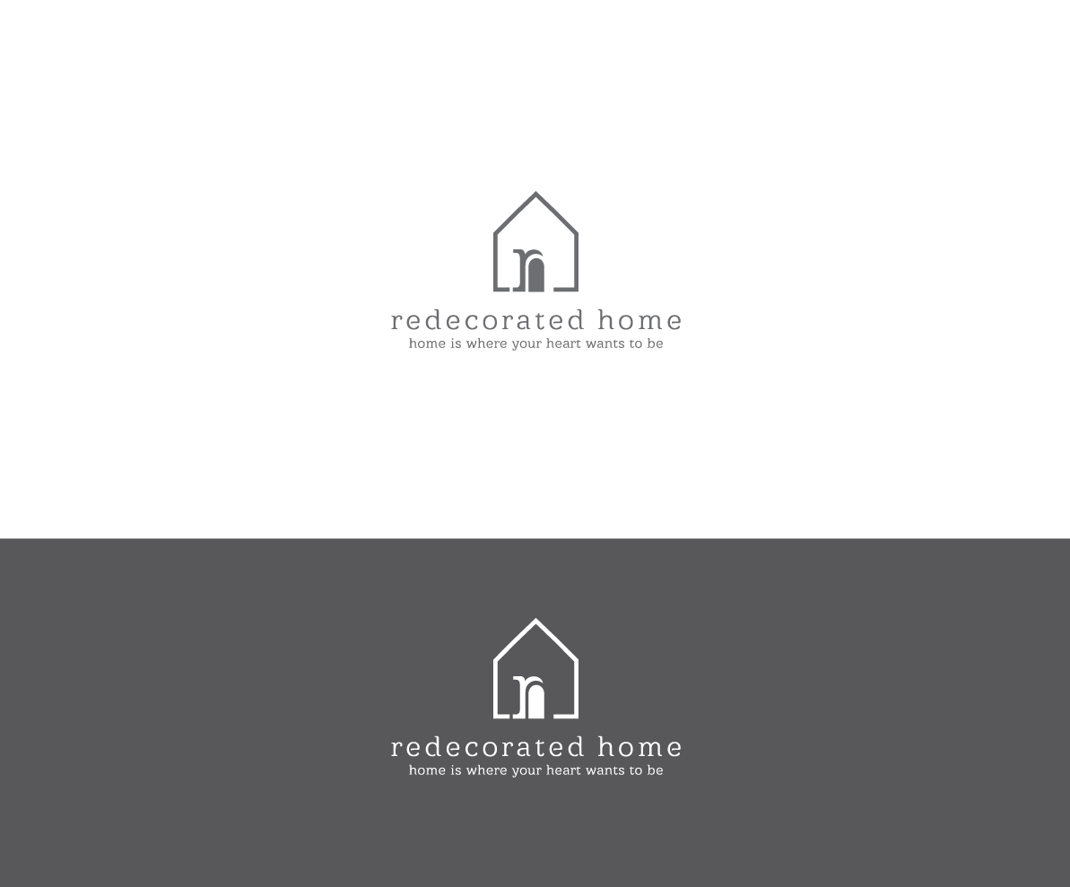 Serious Modern Home Improvement Logo Design For