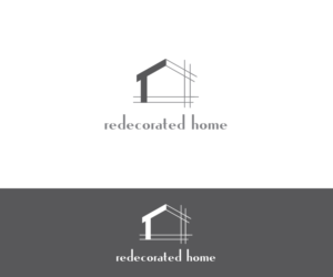 redecorated home logo design by kiran