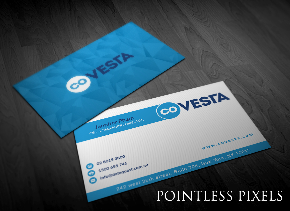 Elegant playful financial business card design for covesta by business card design by pointless pixels india for covesta design 14814711 colourmoves