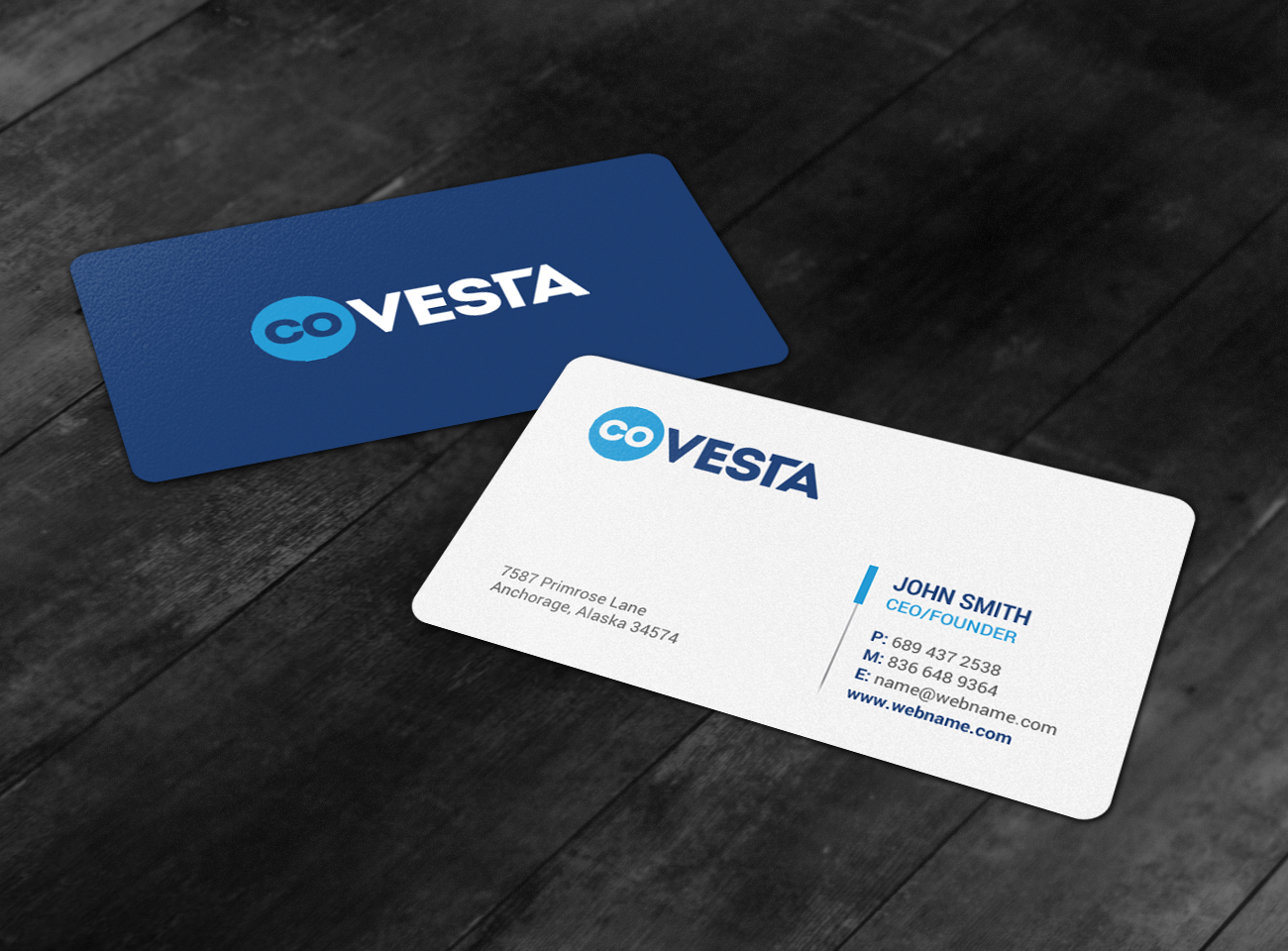 Elegant playful financial business card design for covesta by business card design by chandrayaaneative for covesta design 14826951 colourmoves