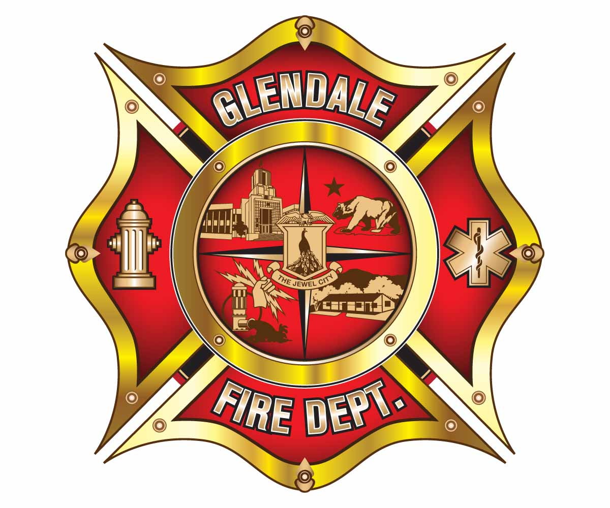 professional serious fire department logo design for glendale fire rh designcrowd com fire rescue logo design fire brigade logo design