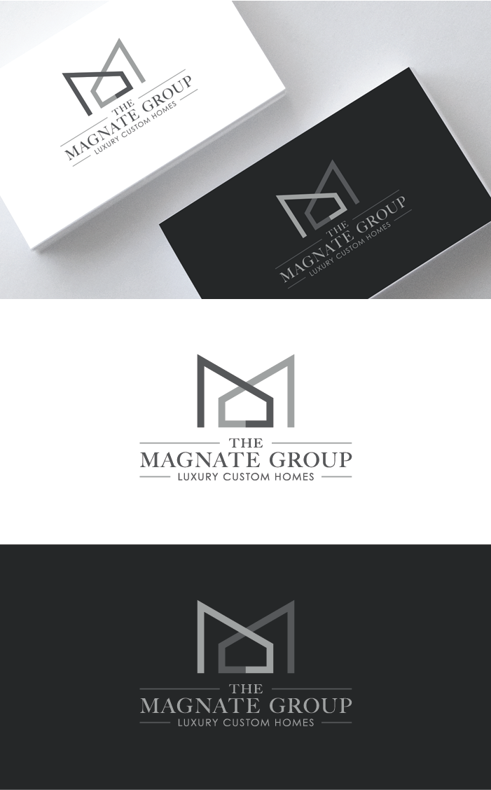 Upmarket, Serious, Home Builder Logo Design for THE MAGNATE GROUP by ...