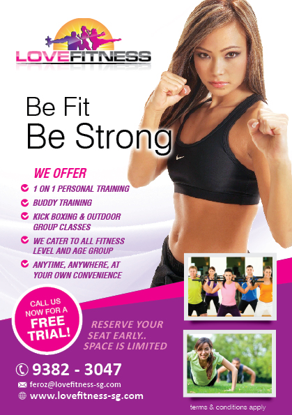 Flyer Design By Rkailas For New Outdoor Fitness Flyer Project   Design  #2597729