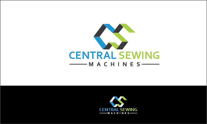 Colorful Upmarket Business Logo Design For Central Sewing Machines Interesting Central Sewing Machines