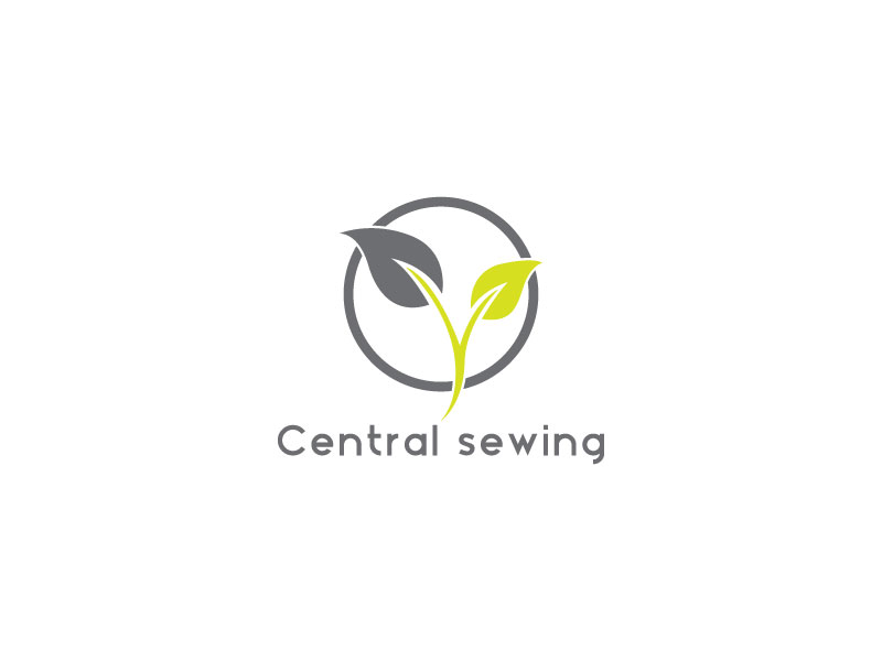 Colorful Upmarket Business Logo Design For Central Sewing Machines Magnificent Central Sewing Machines