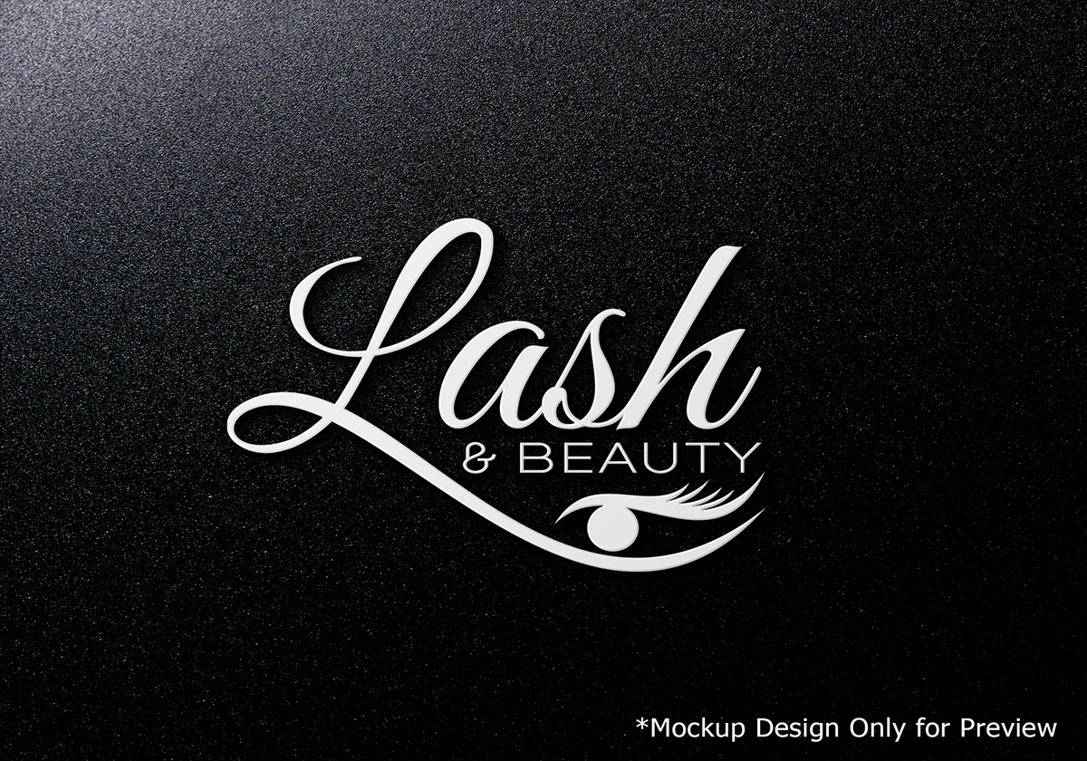 Elegant modern logo design for lash beauty vancouver by logo