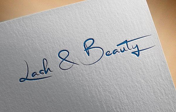 Elegant modern logo design for lash beauty vancouver by ynwrk