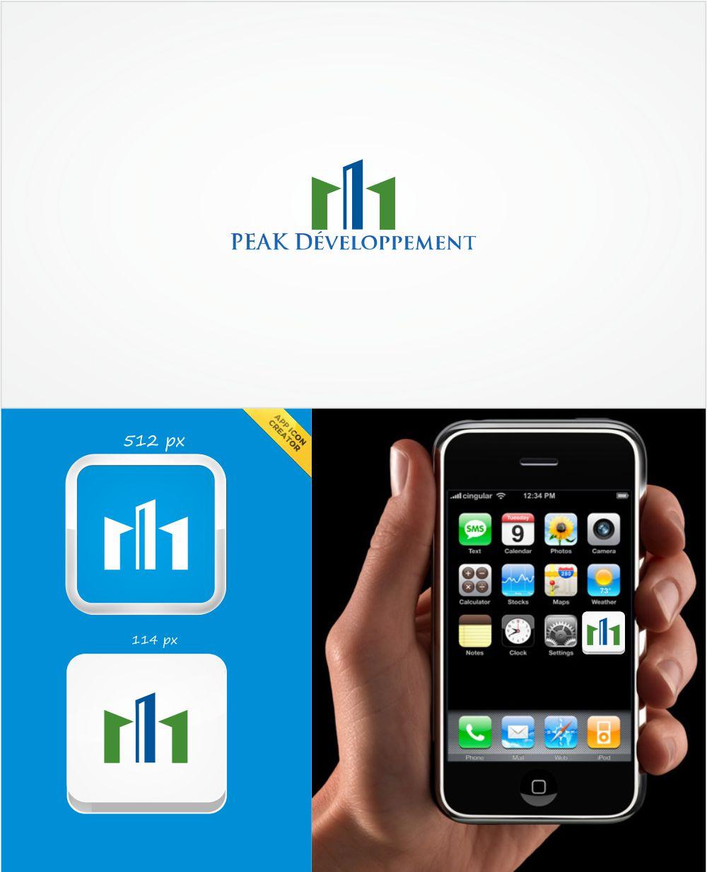 Serious, Professional, Construction Logo Design for PEAK Development