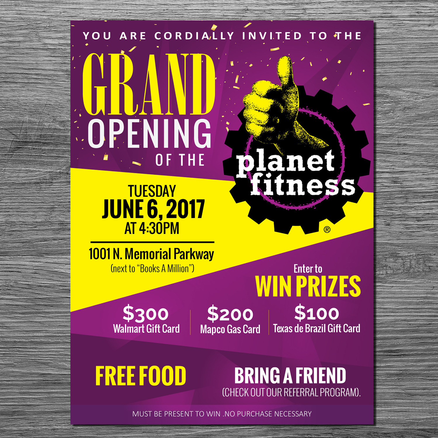 fitness re grand opening flyer ideas aildoc productoseb co