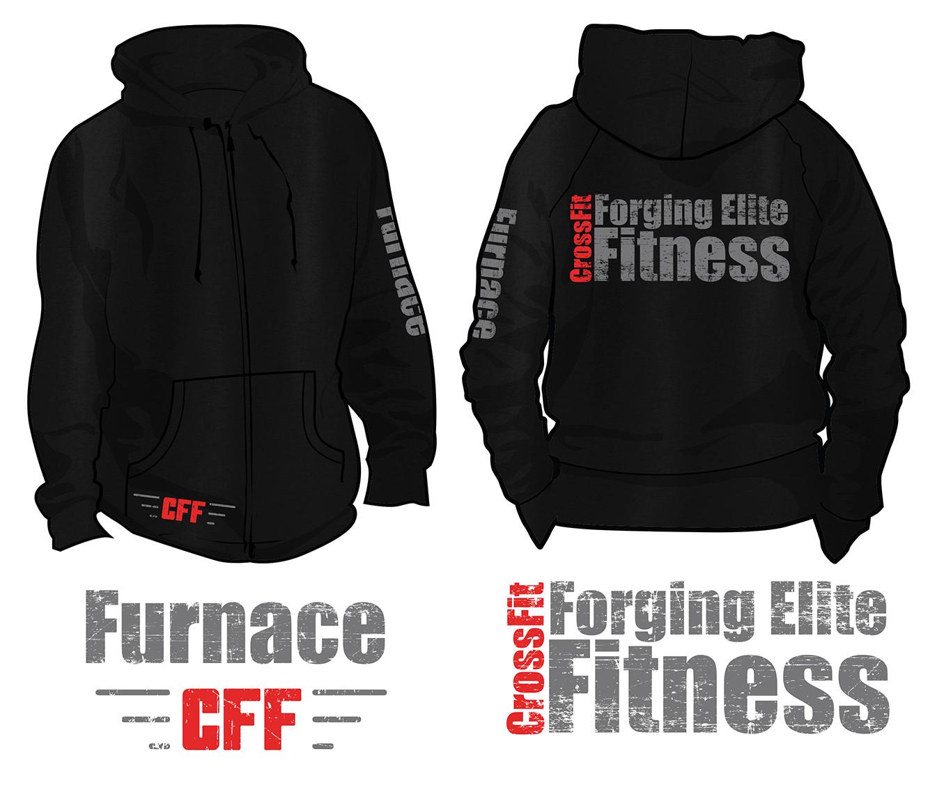 7eeffe751 T-shirt Design by 10V3GRAPHX for CrossFit Furnace   Design #14926792