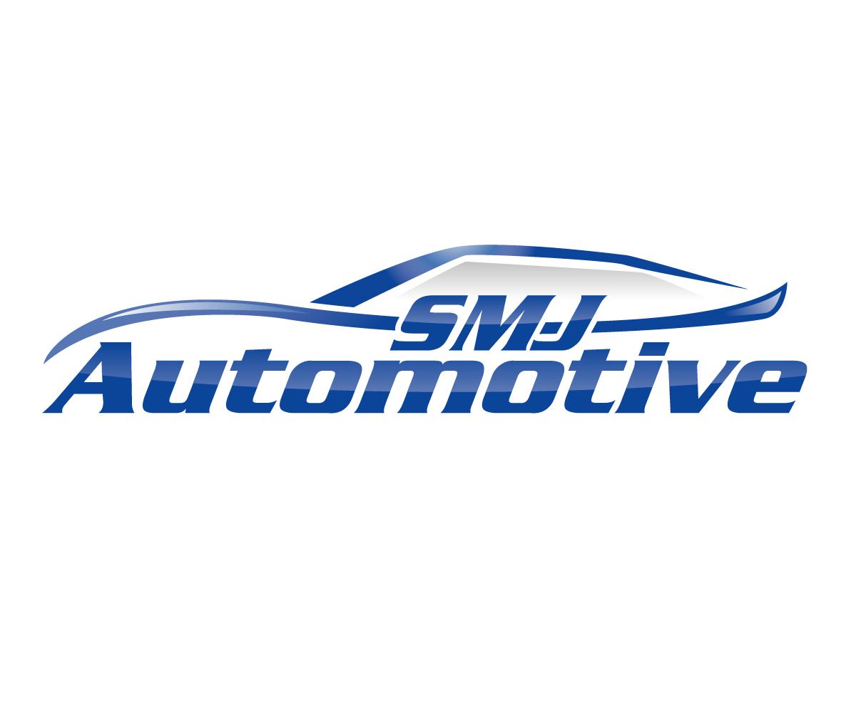 conservative professional mechanic logo design for smj automotive rh designcrowd com au automotive mechanic logo design mechanic graphic design