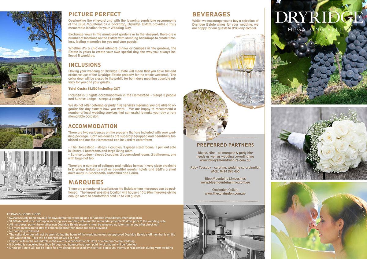 Elegant traditional boutique brochure design for a for Brochure design for boutiques