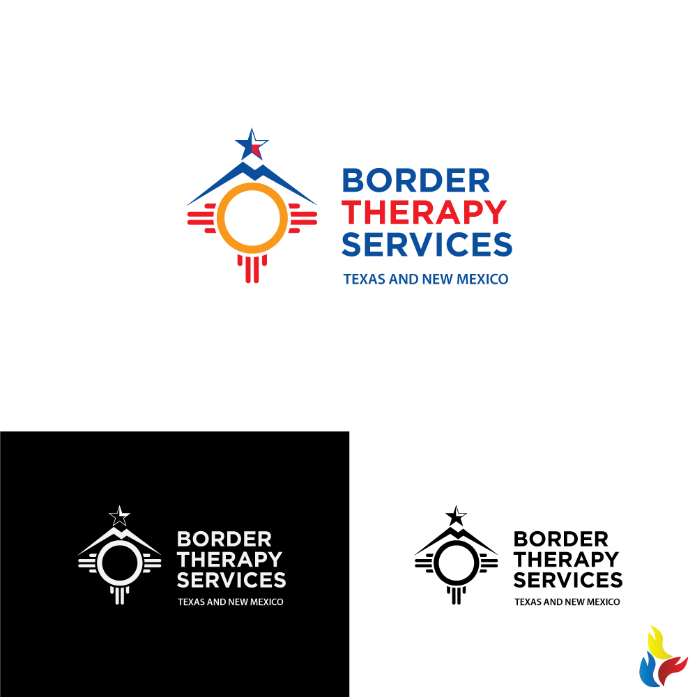 Logo Design By Kreative Fingers For Border Therapy Services   Design  #14981229 Idea