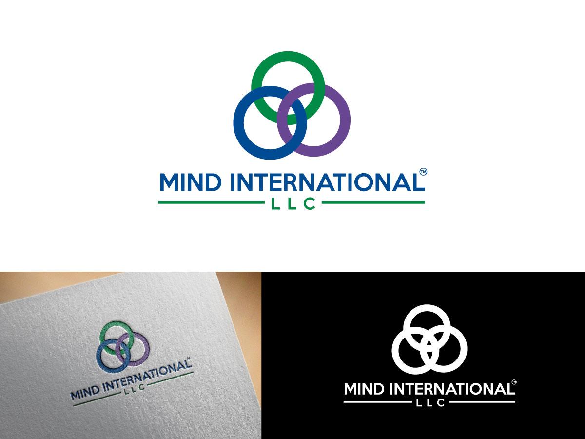 Elegant Serious Life Coaching Logo Design For Mind International