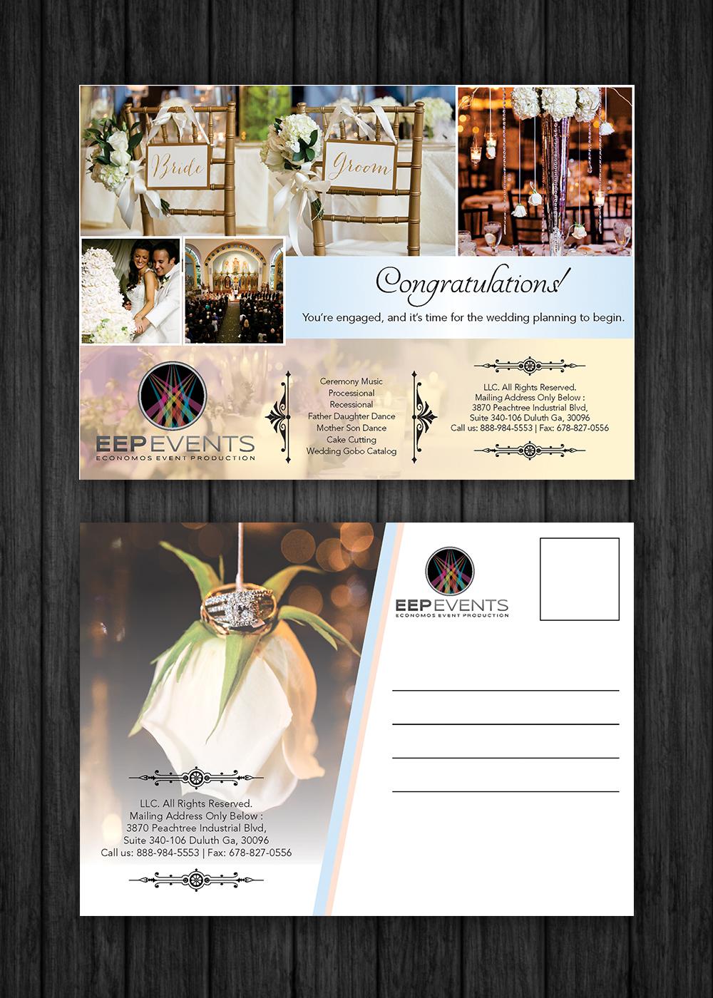 Feminine, Elegant, Wedding Planner Flyer Design for Leah
