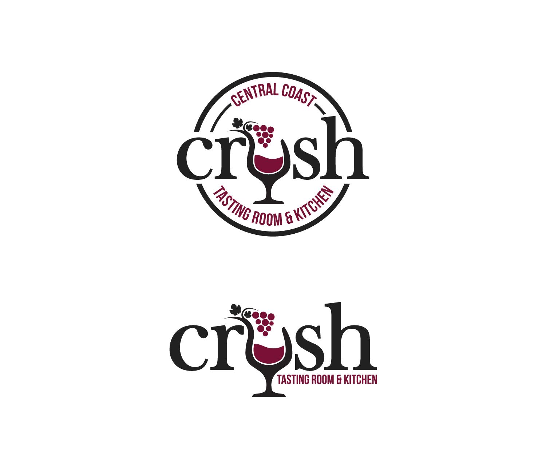 Playful, Modern, Boutique Logo Design for crush tasting room ...