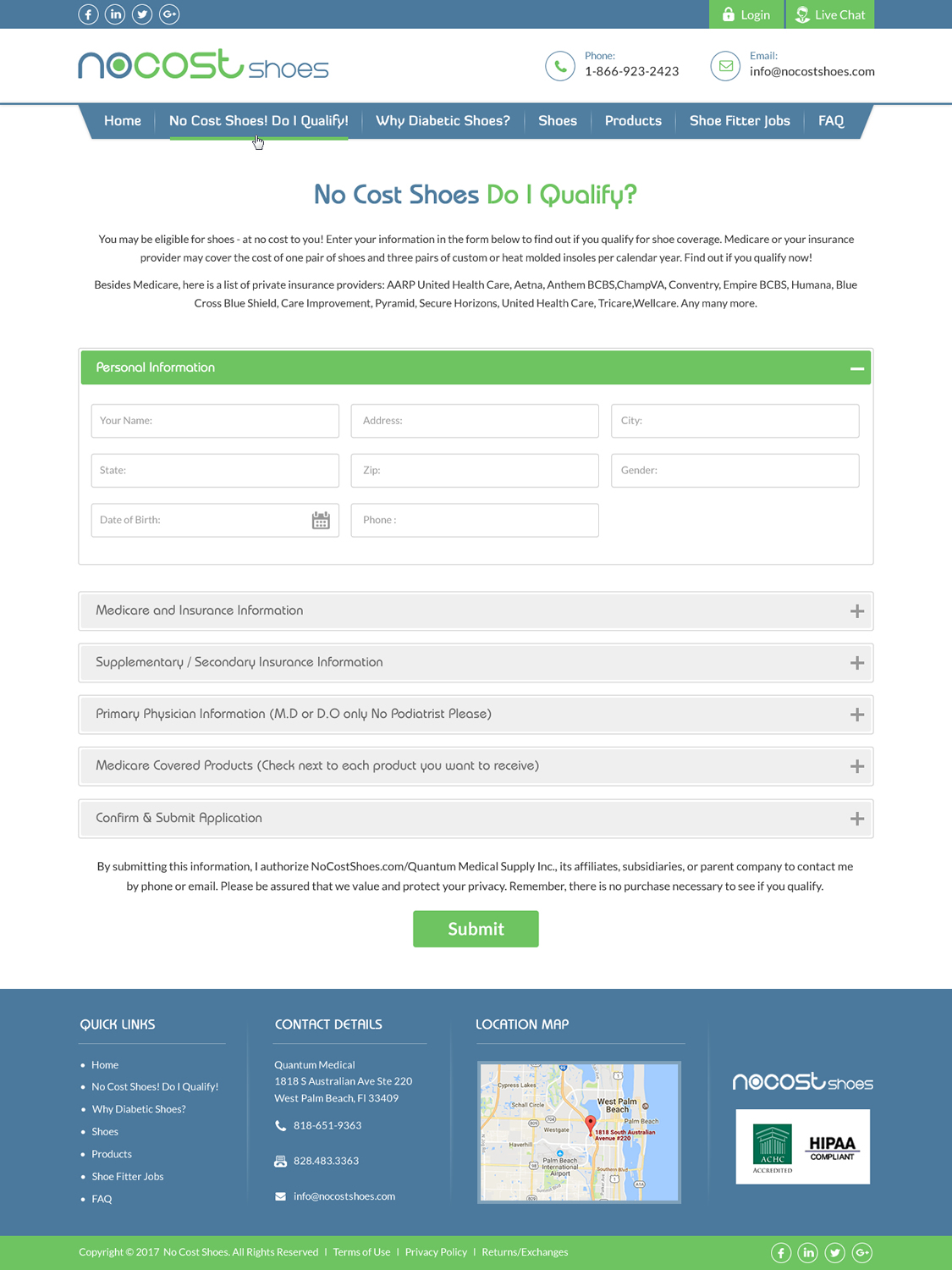 Professional, Serious, Healthcare Web Design for a Company by Sbss