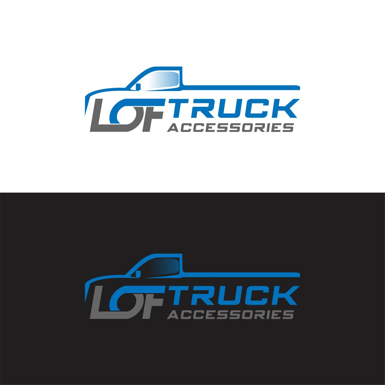 Logo design by monstersox for lot o fun truck accessories design 14923811
