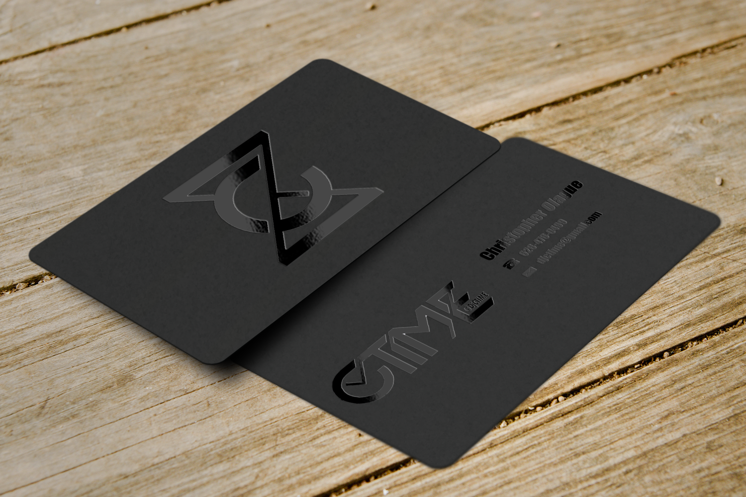 Elegant, Playful Business Card Design for Christopher Olague by ...