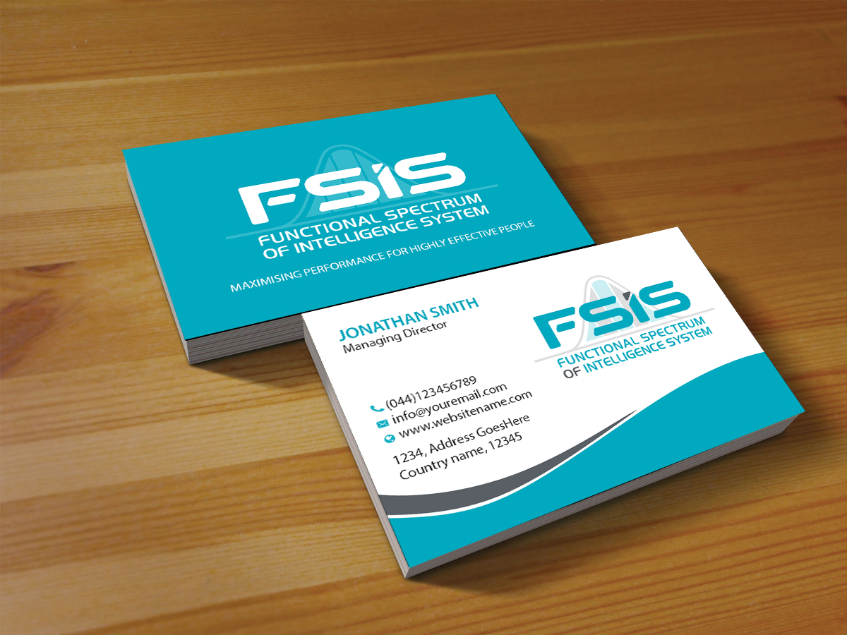 Professional, Upmarket, Business Consultant Business Card Design for ...