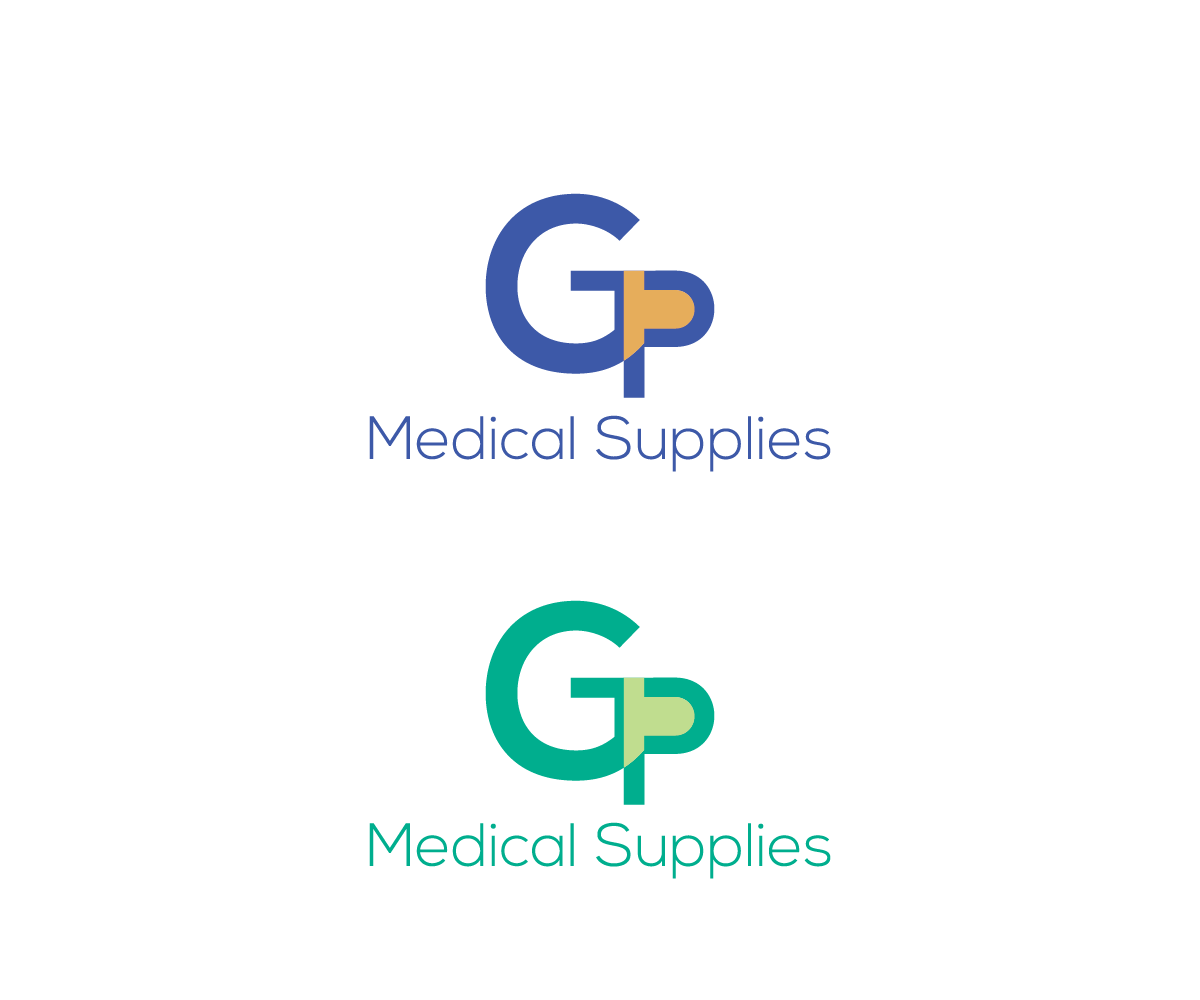 Professional, Serious, Medical Logo Design for GP Medical Supplies