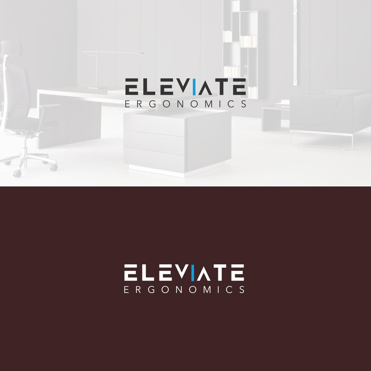 Logo Design By Kreativekrowd For Elevate Ergonomics 14946643