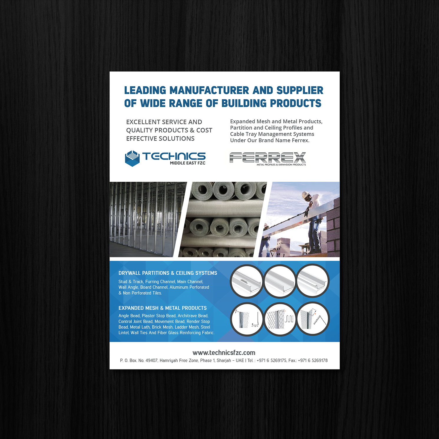 Serious, Modern, Metal Fabrication Newspaper Ad Design for a