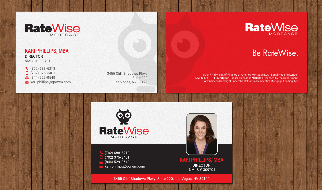business card design by chandrayaancreative for this project design 15038428 - Business Cards Las Vegas