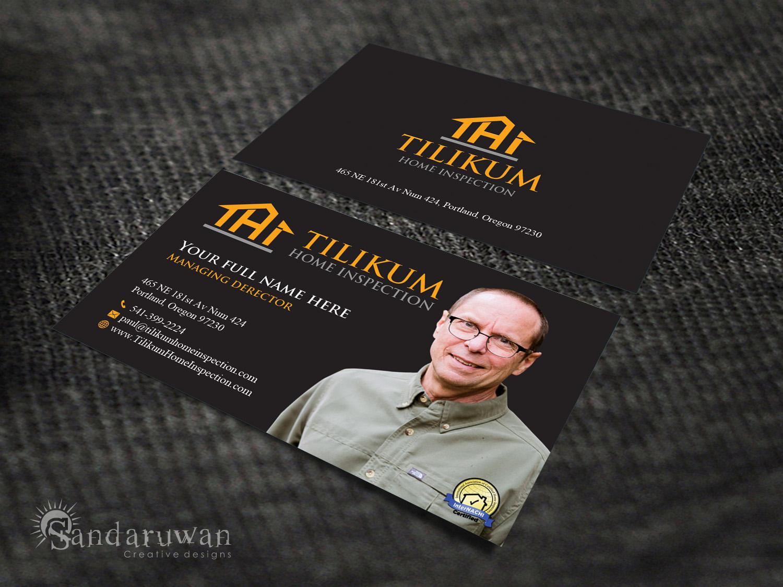 Business Card Design By Sandaruwan For Tilikum Home Inspections
