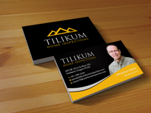 Business Card Design By Creations Box 2015 For Tilikum Home Inspections