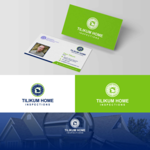 Business Card Design By G234td4y For Tili Home Inspections 15001829