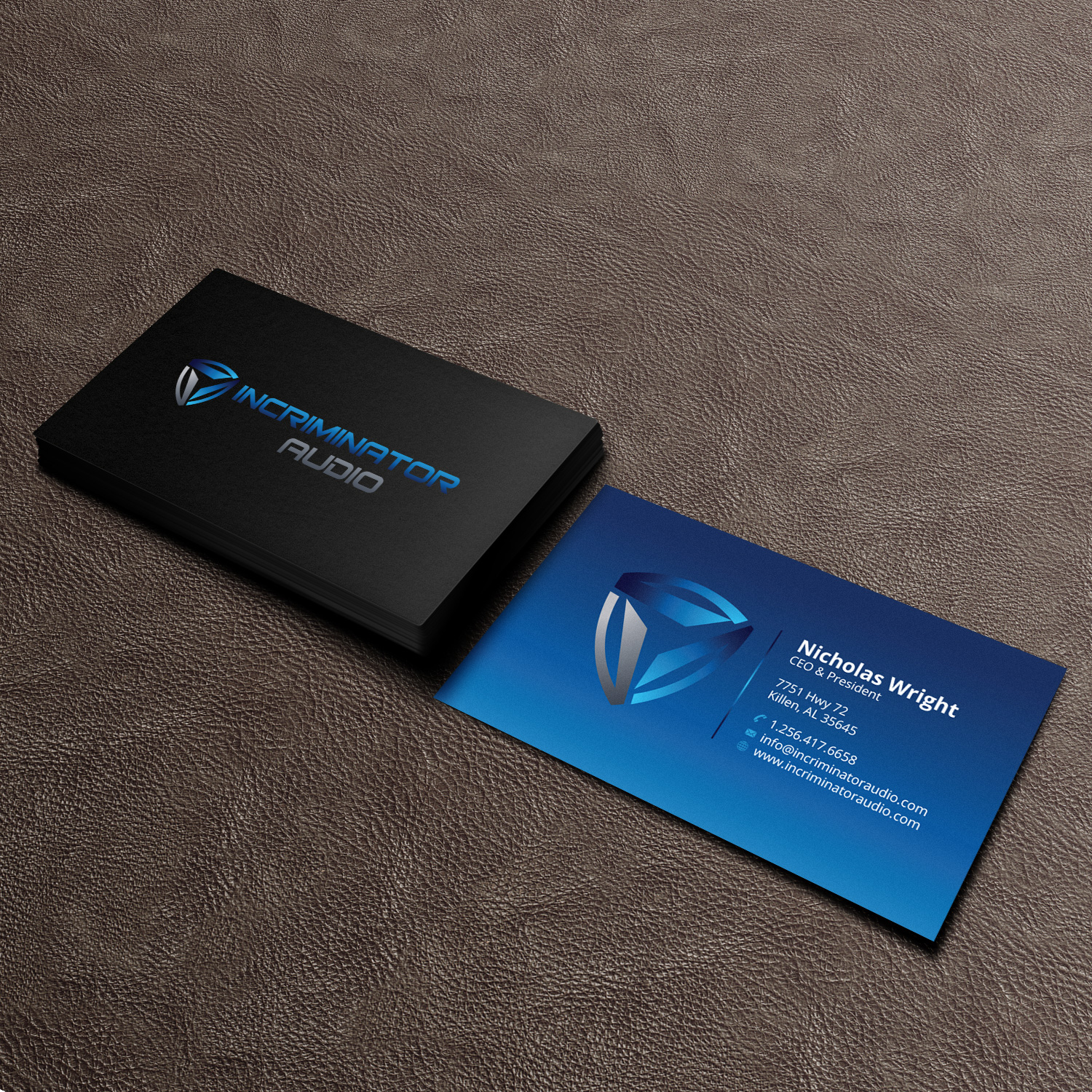 Professional, Masculine, Electronic Business Card Design for a ...