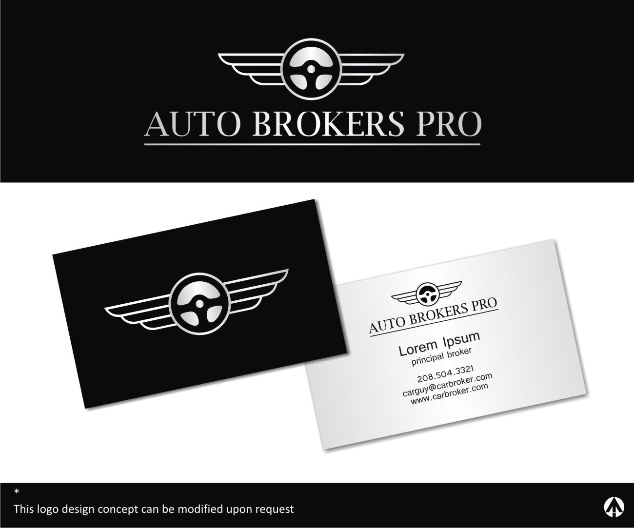 Upmarket, Elegant, Automotive Logo Design for Auto Brokers