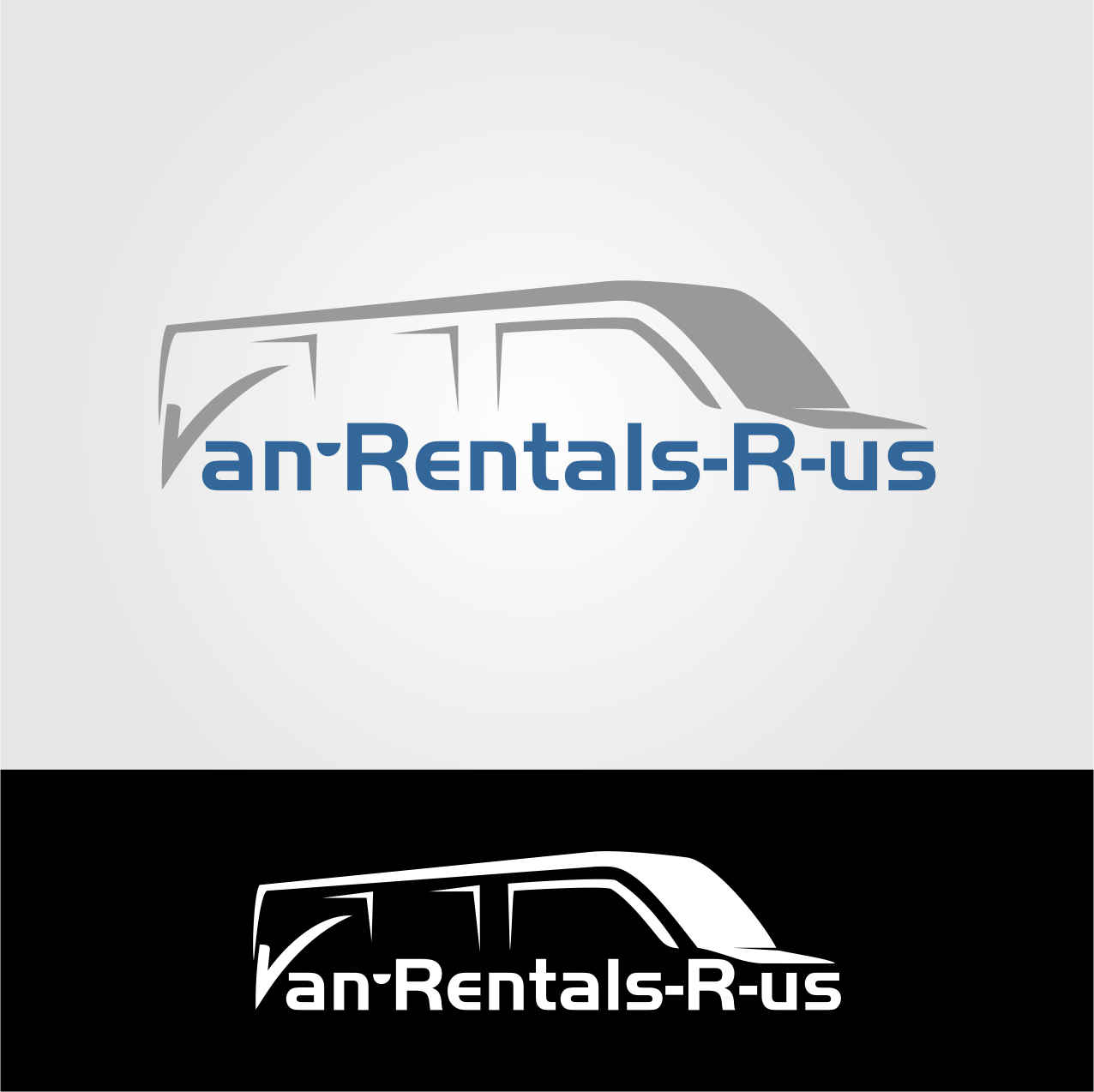 business logo design for van rentals r us by lasri design 15101438. Black Bedroom Furniture Sets. Home Design Ideas