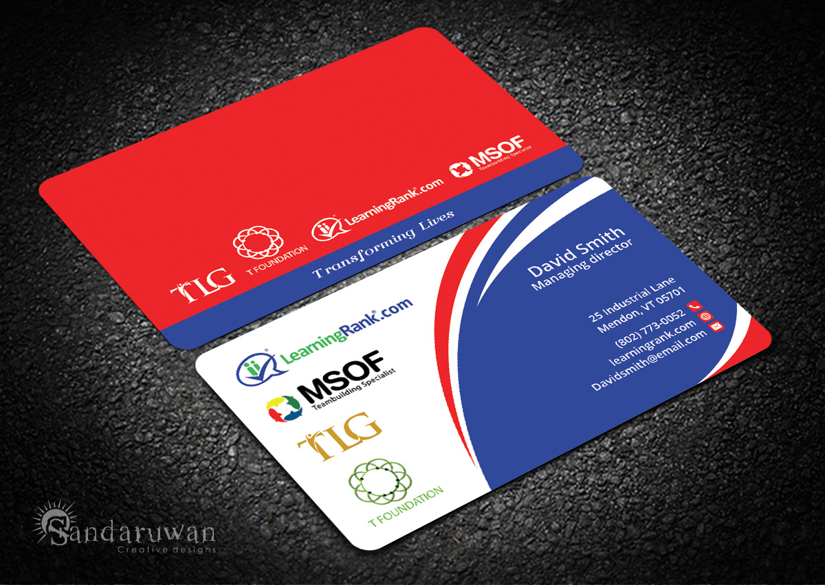 Modern, Professional Business Card Design for a Company by ...