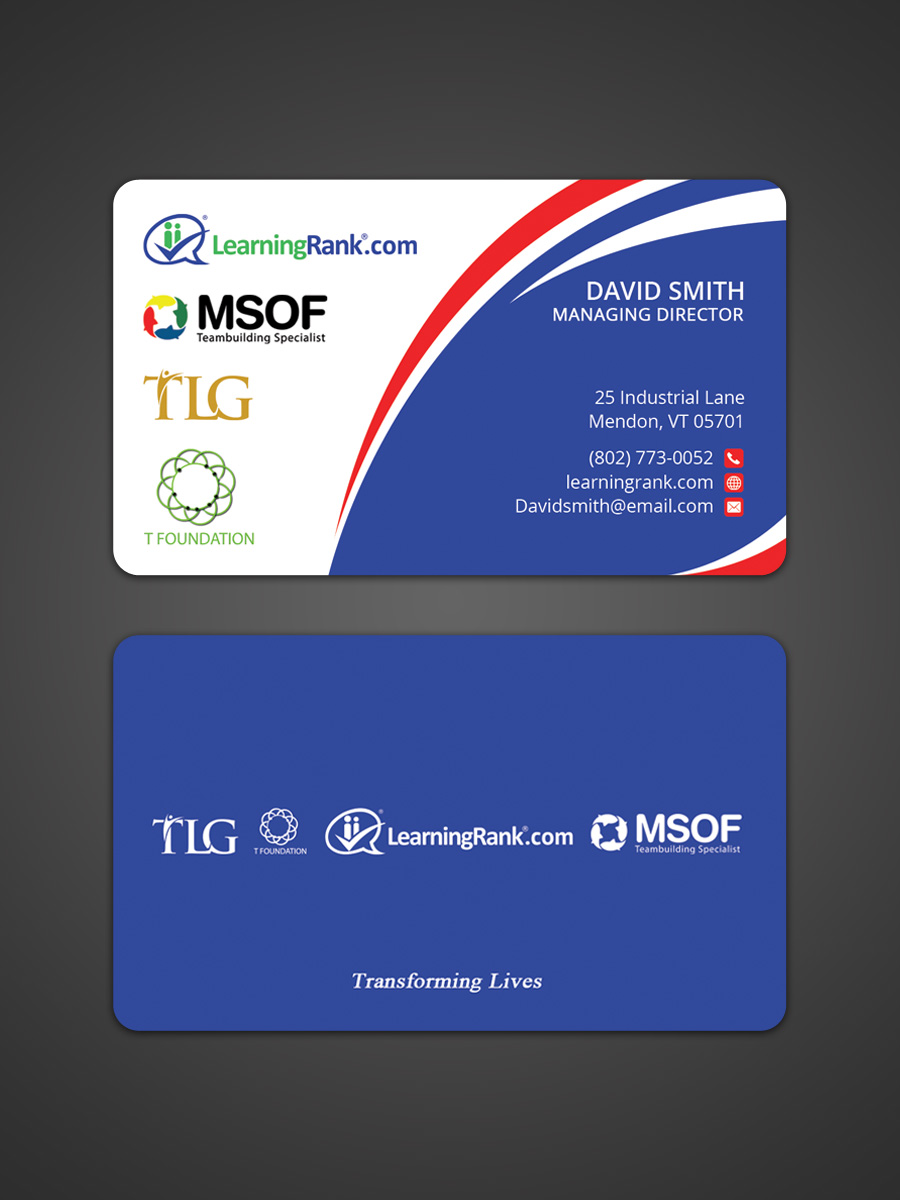 Modern professional business card design for a company by business card design by sandaruwan for this project design 14990465 reheart Image collections