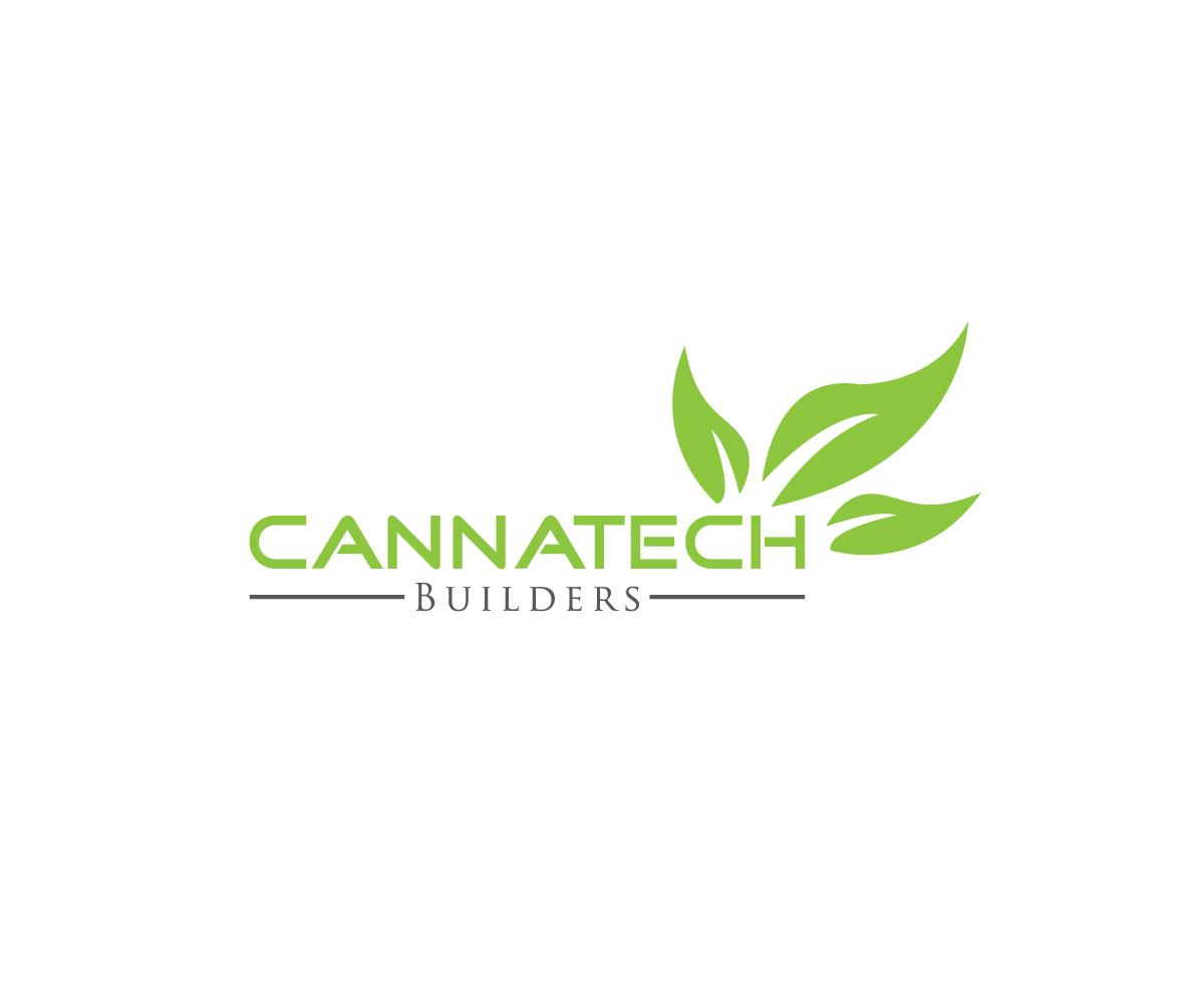 Modern, Professional, Construction Logo Design for Cannatech
