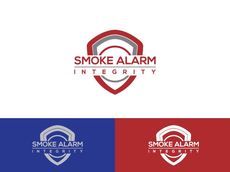 Bold Professional It Service Logo Design For Smoke Alarm Integrity