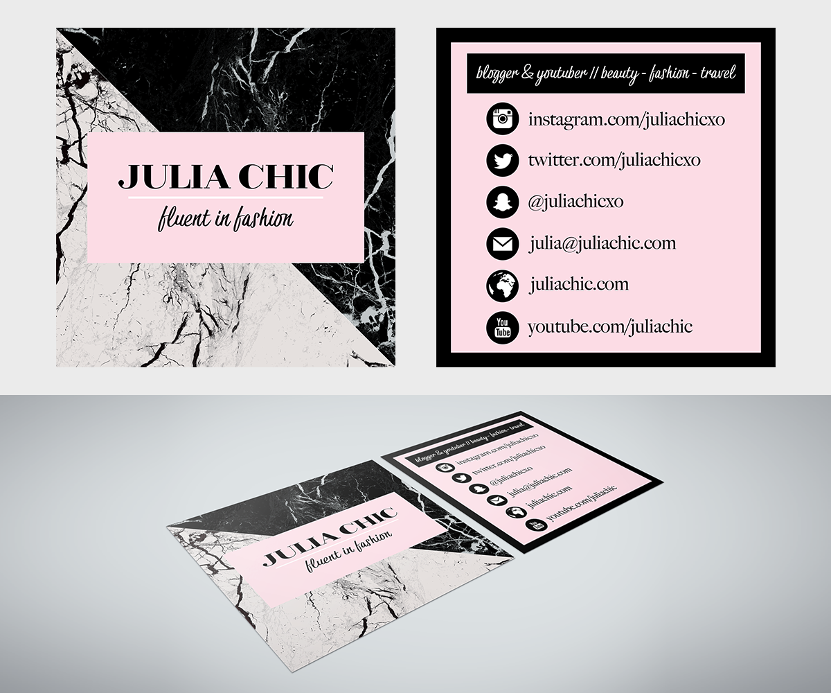 Feminine upmarket fashion business card design for a company by business card design by erin lawson for this project design 15103494 colourmoves