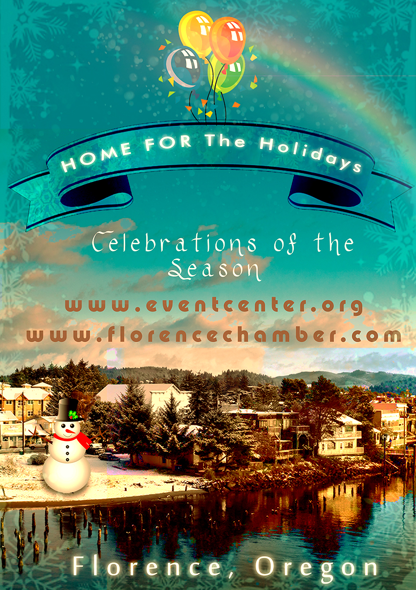Xmas poster design -  Poster Design For Florence Events Center And Chamber Of Commerce