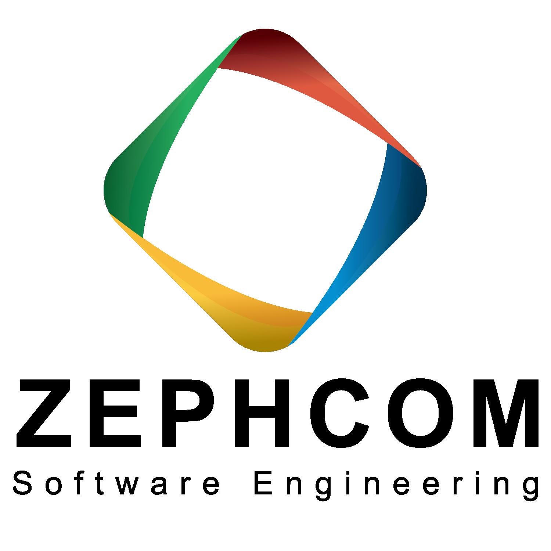 Elegant Playful Information Technology Logo Design For Zephcom