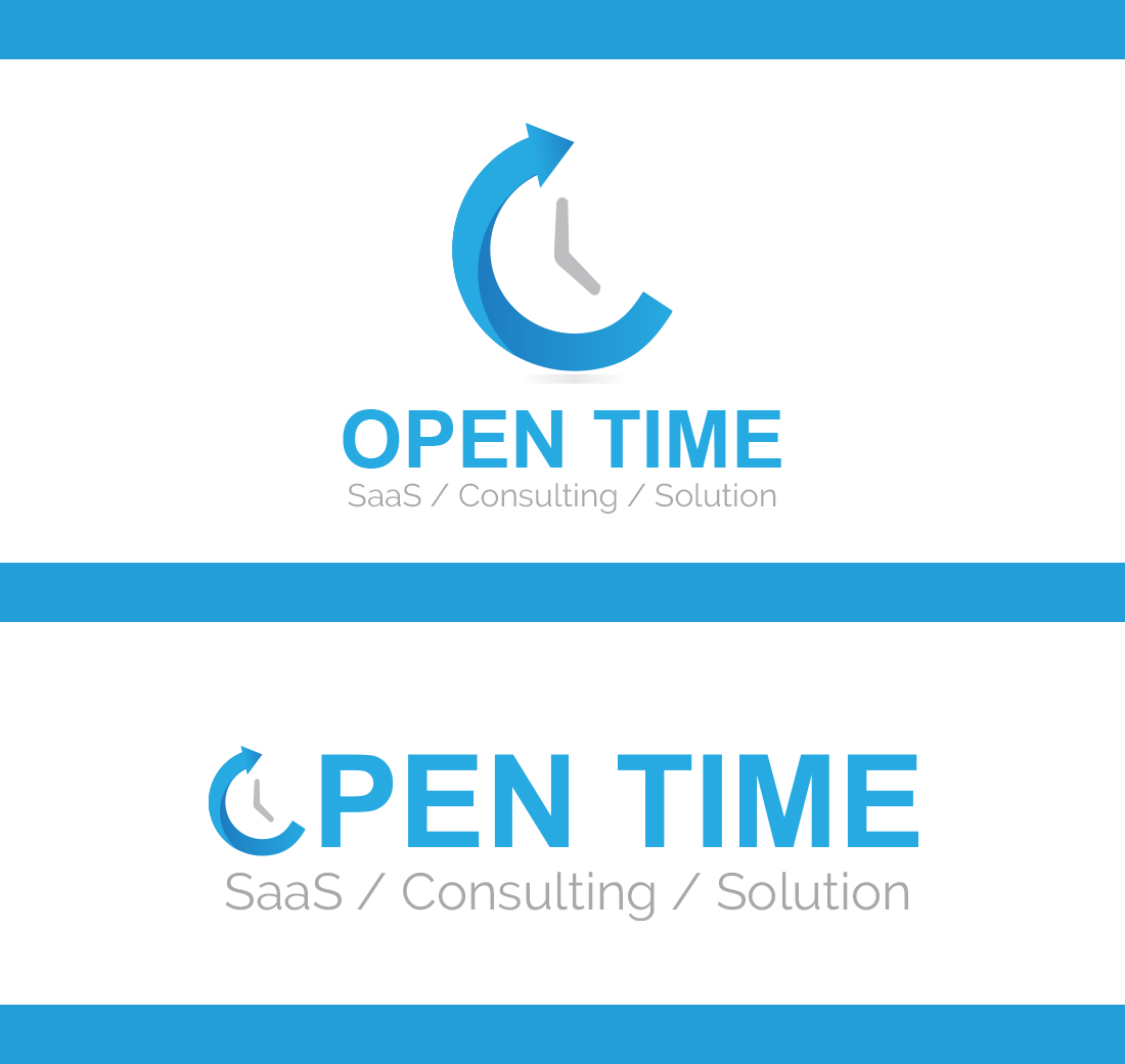 Modern, Bold, Saas Web Design for OpenTime by primarydesigner2k9