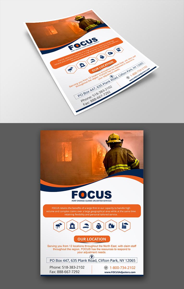 Elegant, Playful, Insurance Advertisement Design for Fort