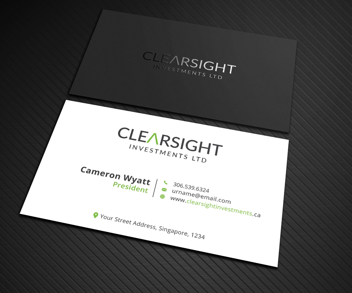 97 Professional Business Card Designs | Finance Business Card Design ...