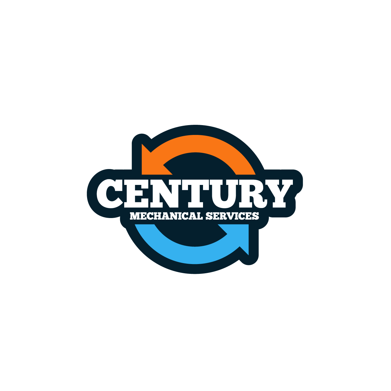modern elegant hvac logo design for century mechanical services by rh designcrowd com mechanical logic mechanical logic