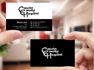 174 upmarket bold hospital business card designs for a hospital business card design design 15068483 submitted to catchy cards for hospital closed reheart Gallery