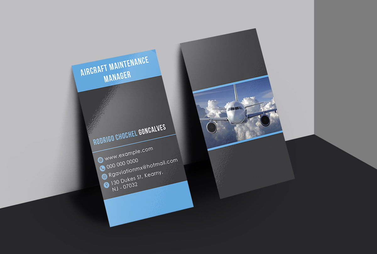 Elegant upmarket aviation business card design for west hudson business card design by design boss for west hudson construction llc design 15049302 colourmoves