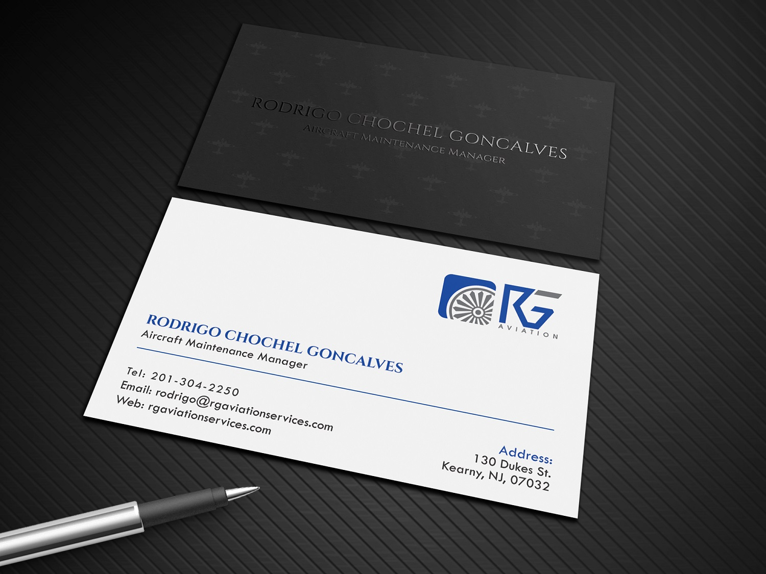 Elegant upmarket aviation business card design for west hudson business card design by graphic flame for west hudson construction llc design 15222586 colourmoves