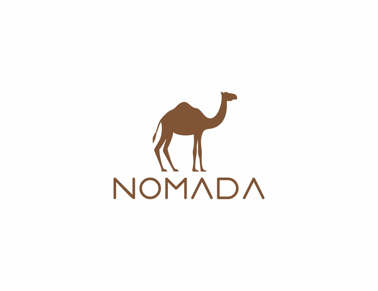 Logo Design by Edu Morente for NOMADA - Luxury Travel accesories and shoes ( Logo for